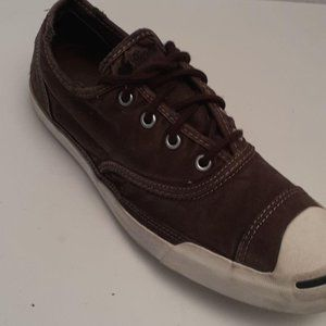 Converse Mens Size 10 Shoes Brown Jack Purcell
